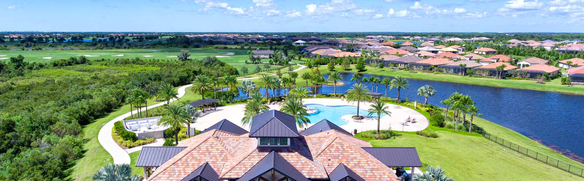 View of Lakewood Ranch from above