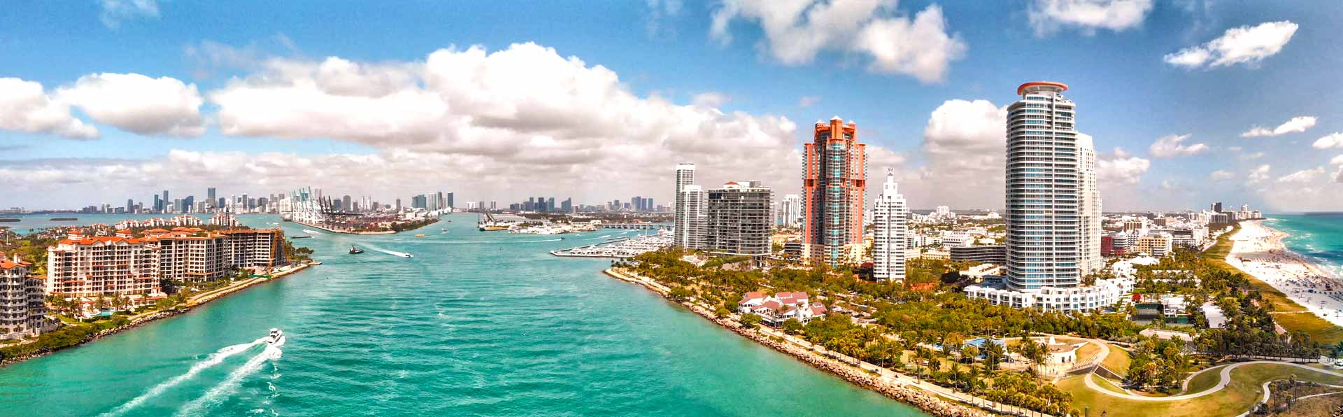 Miami, FL City Skyline
