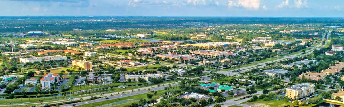 Port St Lucie, FL Skyline
