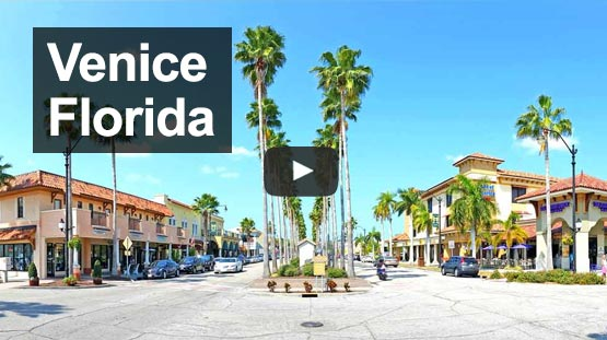 Overview of Venice FL Main Street